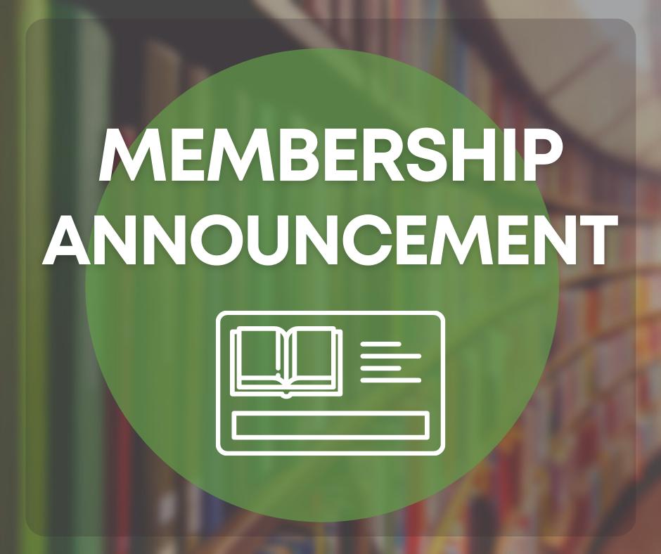 Membership Announcement logo